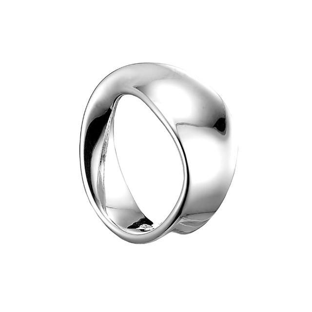 【Georg Jensen 喬治傑生】MOBIUS純銀戒指(3551341-48)