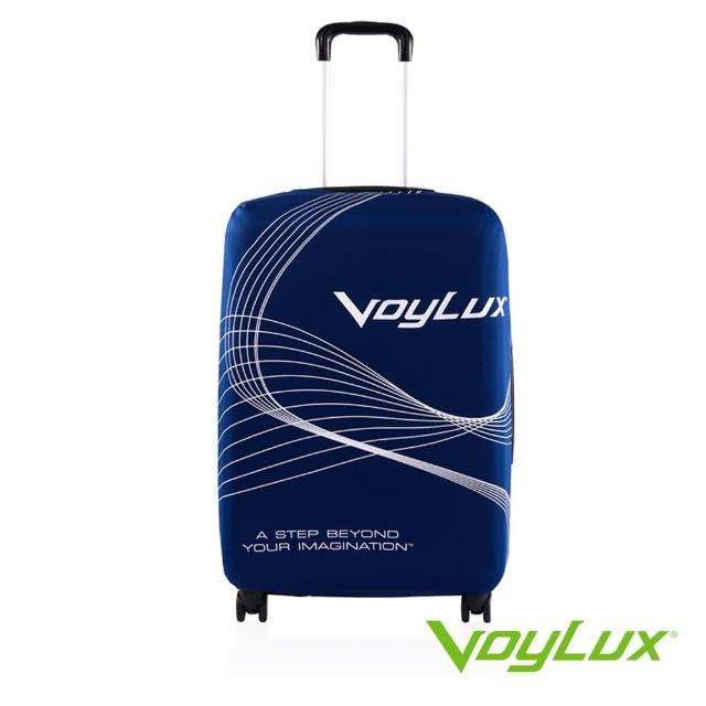 【VoyLux 伯勒仕】高彈性行李箱套適用26-29吋藍色3785219