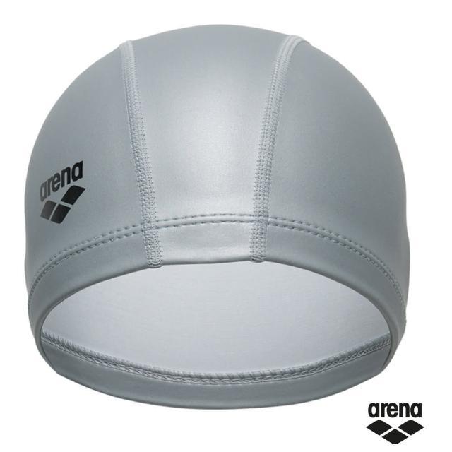 【arena】雙材質泳帽ARN-6406E(抗撕裂 高彈性 佩戴舒適 護耳 男女適用)