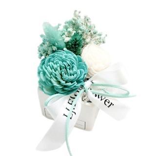 【LJ.Flower 詩意花園】Tiffany香氛太陽玫瑰乾燥花盆栽