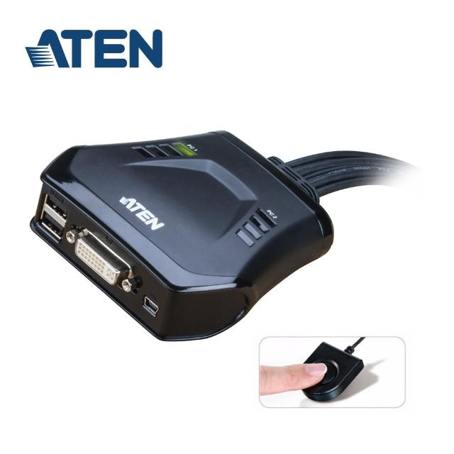【ATEN】2埠 USB DVI KVM 多電腦切換器(CS22D)