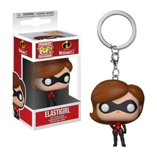 【代理 正版 公司貨】POP 鑰匙圈: 超人特攻隊2 彈力女超人