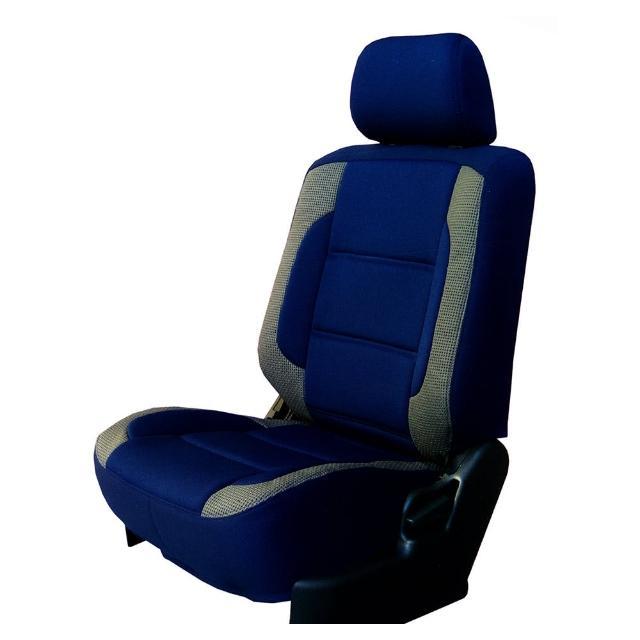 【葵花】量身訂做-汽車椅套-日式合成皮-賽車展翅型配色(轎車款第1+2排)