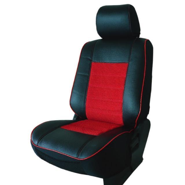 【葵花】量身訂做-汽車椅套-日式合成皮-賽車條紋-B款(休旅車款第1排+第2排)