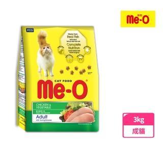 【Me-O 咪歐】乾貓糧 -  雞肉蔬菜口味(3kg)