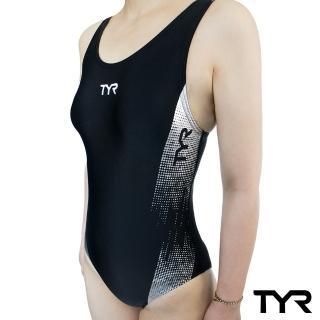 【TYR】Graphis 系列連身三角泳衣(後背挖空設計小性感 Aeroback肩帶穩定舒適)