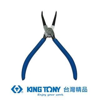 【KING TONY 金統立】KING TONY 專業級工具 內90度C型扣環鉗 歐式 7英吋 KT68HB-07(68HB-07)