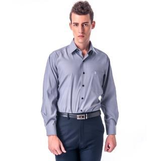 【金安德森】灰色吸排長袖襯衫