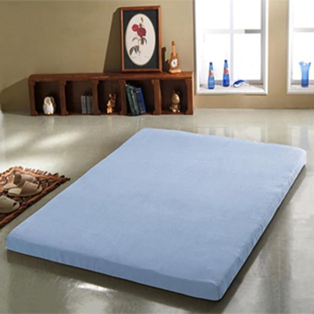【班尼斯】8公分惰性記憶矽膠床墊-附3M吸濕排汗布套(全平面-6尺雙人加大)