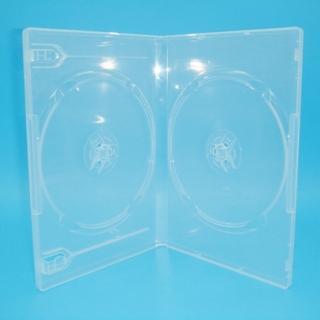 【臺灣 】雙片裝14mm PP霧透 CD盒 DVD盒 光碟盒 CD殼 有膜 25個
