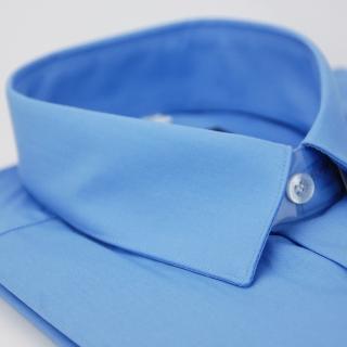 【金安德森】藍色短袖襯衫