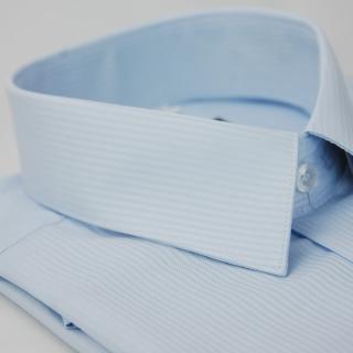 【金安德森】水藍色吸排窄版短袖襯衫