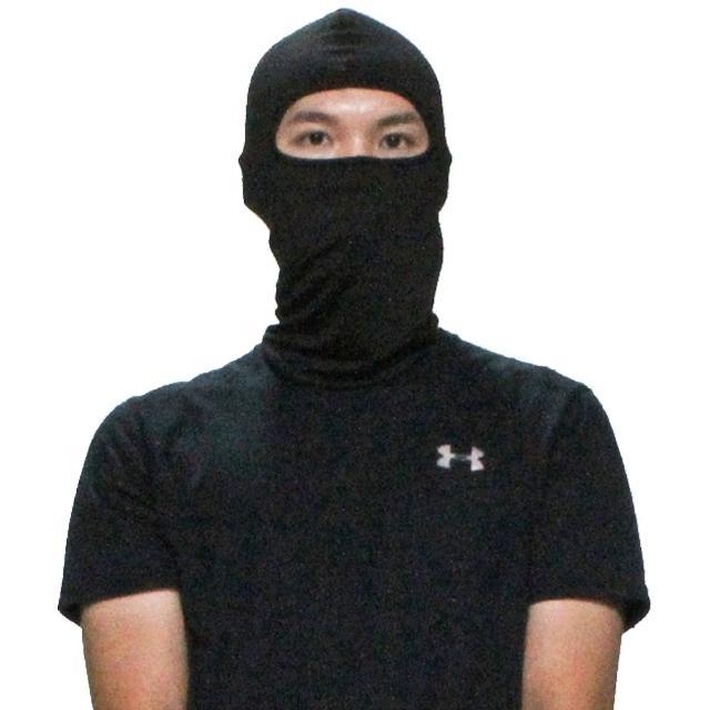 【OMAX】多用途莱卡弹性吸汗透气头套面罩-2入(颜色随机)