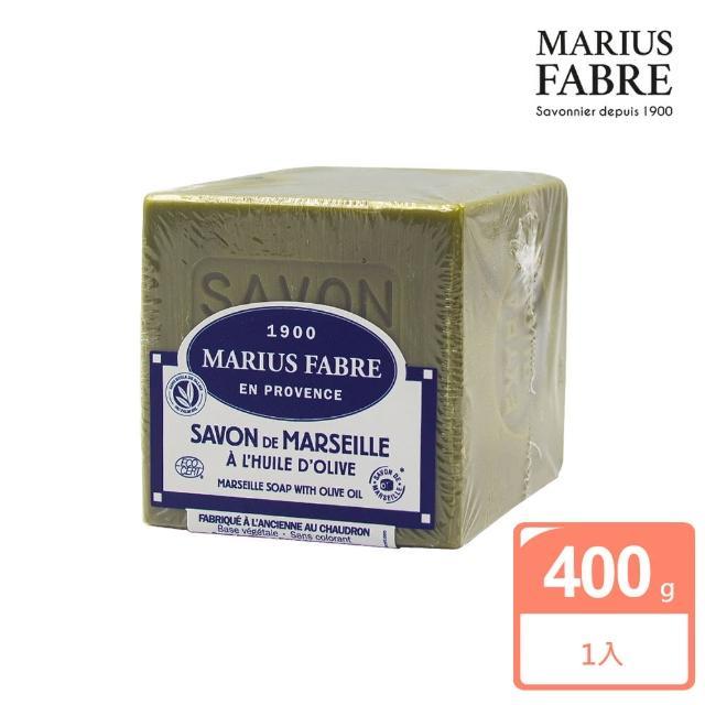 【法國法鉑】橄欖油經典馬賽皂(400g)