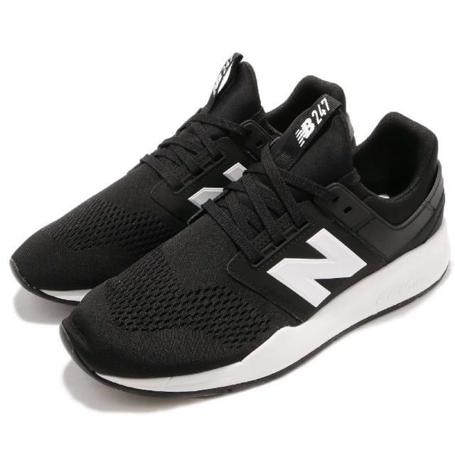 【NEW BALANCE】慢跑鞋 MS247EBD 男鞋 女鞋 纽巴伦 轻量 透气 舒适 情侣鞋 穿搭 黑 白(MS247EBD)