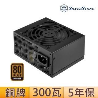 【SilverStone銀欣】300W 80 PLUS 銅牌認證 電源供應器(銀欣_SFX ST30SF_第二版本)