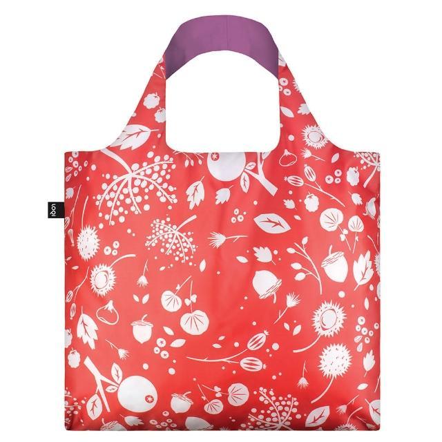 【LOQI】种子红 SECB(购物袋.环保袋.收纳.春卷包)