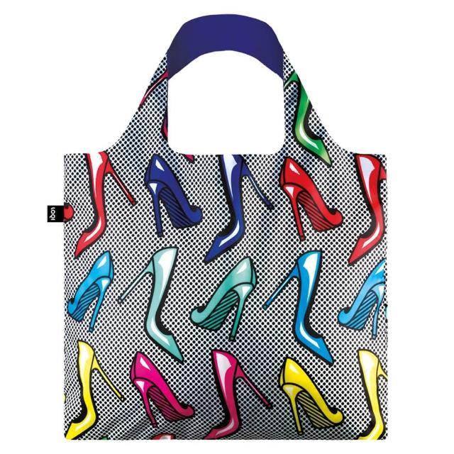 【LOQI】高跟鞋 POHI(购物袋.环保袋.收纳.春卷包)
