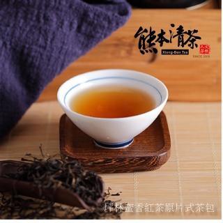 【熊本清茶】坪林典藏蜜香紅茶原片式茶包50入(東方美人茶)