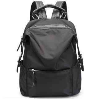 【Ela】春夏新款韓版百搭學院風時尚後背包休閒旅行包