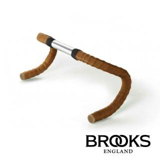 【BROOKS】皮革車把帶 附橡膠端塞 蜂蜜