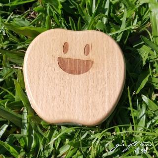 【gift4U 禮物+】台灣客製刻名兒童乳牙保存盒 開口笑(乳牙盒 乳齒盒 兒童禮 小學生 成長紀念)