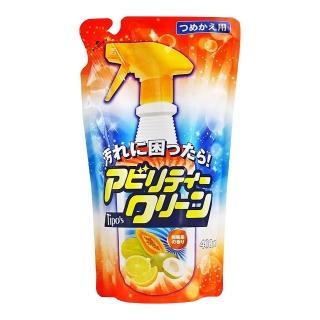日本友和天然三合一植物酵素清潔劑補充包400ML