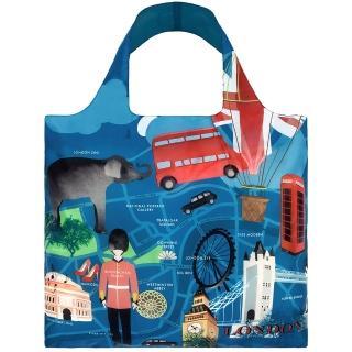 【LOQI】倫敦 URLO(購物袋.環保袋.收納.春捲包)