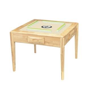 【東方不敗】電動麻將桌-寶麗來實木餐桌系列(胡桃木/實木色)
