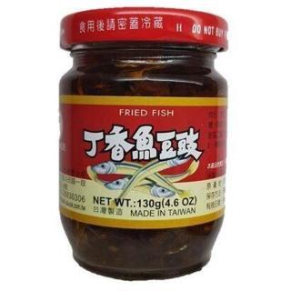 【同志】香魚豆鼓(130g)