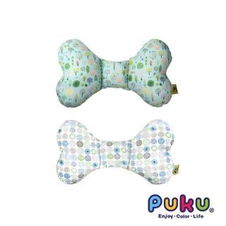 【PUKU藍色企鵝】LoDo透氣樂豆枕(森林公園/筆刷點點)