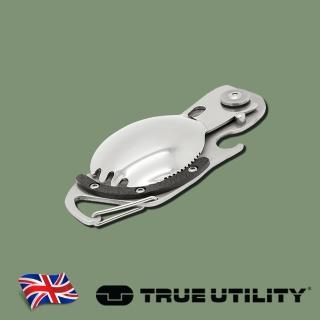 【TRUE UTILITY】英國多功能刀叉鑰匙圈工具組Sporknife(多功能刀叉鑰匙圈工具組)
