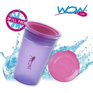 【Wow cup】美國WOW Cup Kids 360度透明喝水杯(紫色)