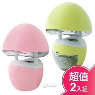 【捕蚊達人】光觸媒捕蚊燈GR-361(超值二入組)