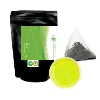 【舞間茶心】有機綠茶(原片立體茶包50入_經濟包)