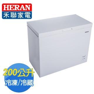 【★買就送網路第四台★HERAN 禾聯】200L臥式冷凍櫃(HFZ-2062含拆箱定位)