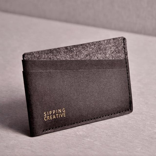 【俬品创意】信用卡夹_极简黑