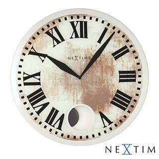 【歐洲名牌時鐘】NEXTIME-斑駁復古時鐘《歐型精品館》(簡約時尚造型/掛鐘/壁鐘)