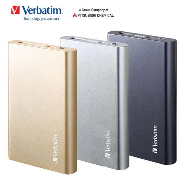 【Verbatim 威寶】6000mAh 行動電源Li-Polymer Power