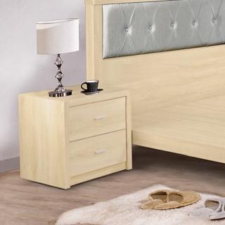【AS】塞西爾原切橡木床頭櫃-53x40.5x50cm