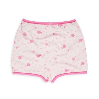【annypepe】兒童內褲 天絲排汗紗女童四角褲-小花