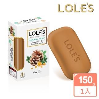 【LOLES】松焦油肌膚舒緩機能皂(150g)