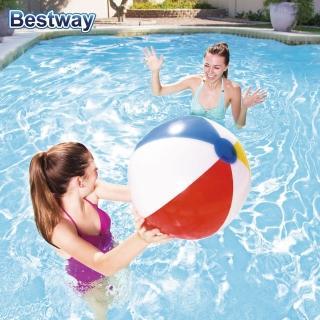 ~BESTWAY~夏日 款 沙灘球 20吋 51cm 充氣 水上排球 草地 戲水 泳池