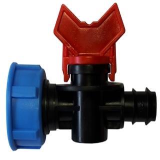 【灑水達人】六分內牙轉16mm水管開關接頭球閥3入