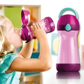 【法國Maped】無吸管兒童概念水瓶430ml-熱情紫