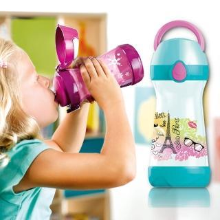 【法國Maped】無吸管兒童概念水瓶430ml-氣質巴黎