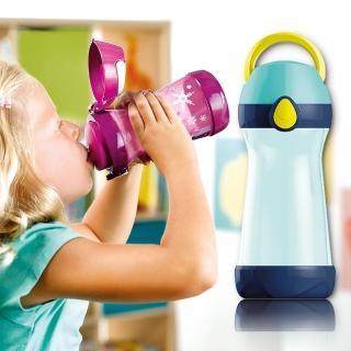 【法國Maped】無吸管兒童概念水瓶430ml-聰明藍