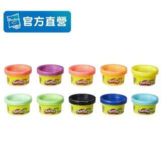 【PLAYDOH 培樂多】補充罐系列(無毒 10罐派對組 22037)