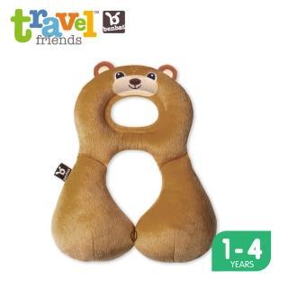 【Benbat】1-4歲 寶寶旅遊頸枕(小熊)