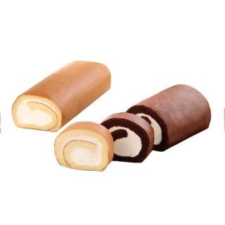 【不二緻果】真乳捲雙入組合(一口品嚐北海道十勝鮮奶油的綿密滑順)